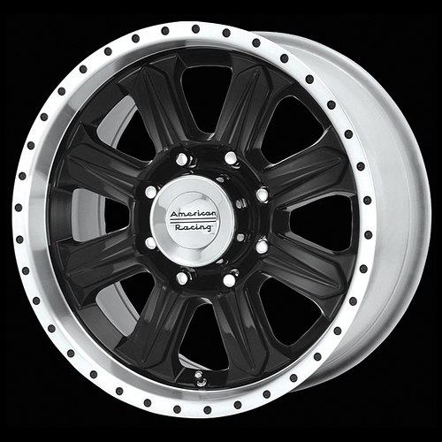 20 Inch Black Wheels Rims Dodge RAM Chevy Truck 8 lug