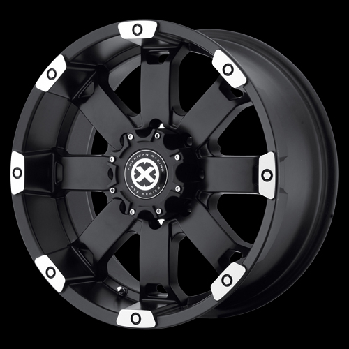17 inch Black Wheels Rims Chevy Truck GMC Dodge RAM 2500 3500 8 Lug