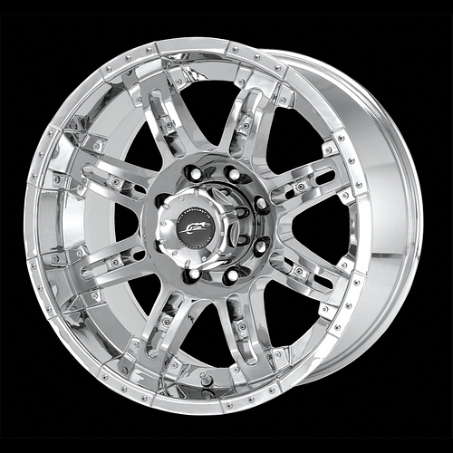 17 inch Chrome Wheels Rims Chevy Silverado 1500 Truck Tahoe GMC Sierra