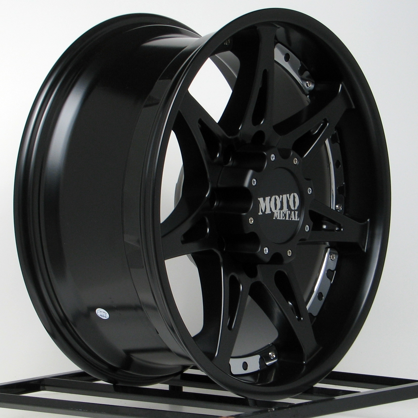 18 inch black wheels rims lifted chevy silverado 1500 tahoe truck 6 lug 18x10 ebay. Black Bedroom Furniture Sets. Home Design Ideas